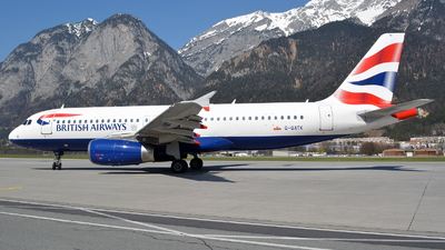 G-GATK - Airbus A320-232 - British Airways