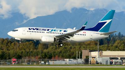 C-GWSN - Boeing 737-7CT - WestJet Airlines