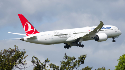 A picture of TCLLG - Boeing 7879 Dreamliner - Turkish Airlines - © Esteban Cristancho