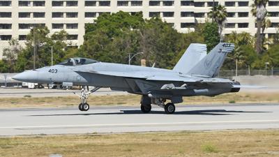 166821 - Boeing F/A-18E Super Hornet - United States - US Navy (USN)
