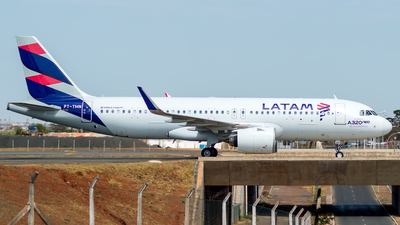 PT-TMN - Airbus A320-271N - LATAM Airlines