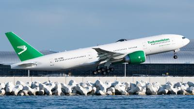 EZ-A780 - Boeing 777-200LR - Turkmenistan Airlines