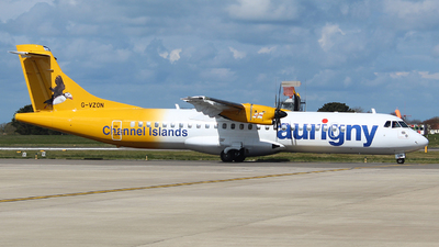 G-VZON - ATR 72-212A(500) - Aurigny Air Services