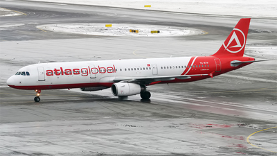 TC-ETV - Airbus A321-231 - AtlasGlobal