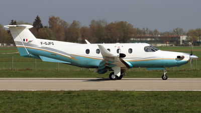 F-GJFG - Pilatus PC-12/45 - Private