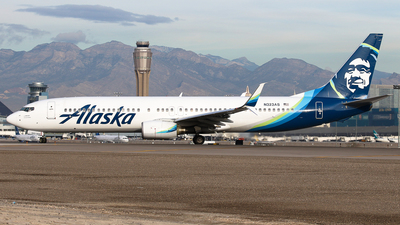 N323AS - Boeing 737-990 - Alaska Airlines