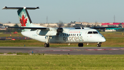 A picture of CGTAG - De Havilland Canada Dash 8300 - Air Canada - © Alex I.