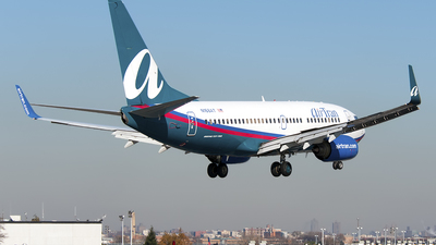 N168AT - Boeing 737-76N - airTran Airways