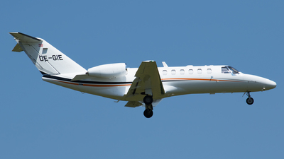 OE-GIE - Cessna 525 Citation CJ3 - Private