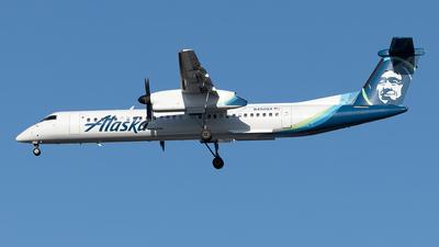 A picture of N450QX - De Havilland Canada Dash 8400 - Alaska Airlines - © Yixin Chen