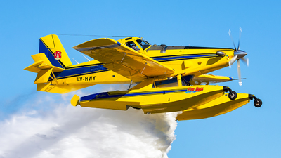 LV-HWY - Air Tractor AT-802F Fire Boss - Argentina - Provincia de Cordoba