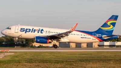 N629NK - Airbus A320-232 - Spirit Airlines