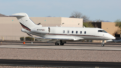 N707QS - Bombardier BD-100-1A10 Challenger 350 - NetJets Aviation