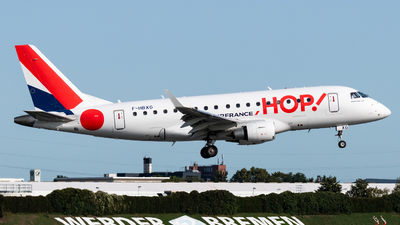 F-HBXG - Embraer 170-100STD - HOP! for Air France