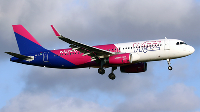 A picture of HALYT - Airbus A320232 - Wizz Air - © Javier Rodriguez - Amics de Son Sant Joan