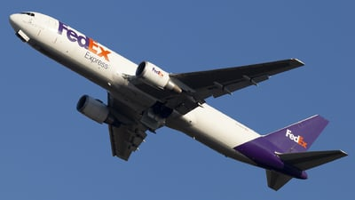 A picture of N110FE - Boeing 7673S2F(ER) - FedEx - © Matteo Mariani