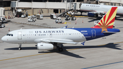N826AW - Airbus A319-132 - US Airways