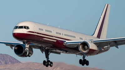 N770BB - Boeing 757-2J4 - Private