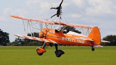 N5057V - Boeing A75N1 Stearman - Breitling