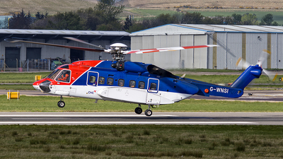G-WNSI - Sikorsky S-92A Helibus - CHC Helicopters