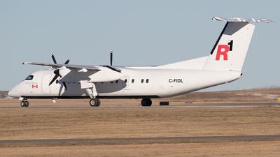 A picture of CFIDL - De Havilland Canada Dash 8300 - Central Mountain Air - © Mike MacKinnon