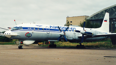 RA-75442 - Ilyushin IL-18DTs Tsyklon - Aeroflot