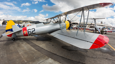 FAC62 - Boeing PT-17 Kaydet - Colombia - Air Force