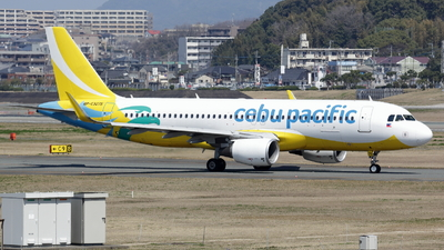A picture of RPC3275 - Airbus A320214 - Cebu Pacific - © Masao Ohmoto