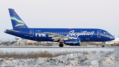A picture of RA89035 - Sukhoi Superjet 10095LR - Yakutia Airlines - © Dmitry Belov