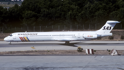 SE-DID - McDonnell Douglas MD-83 - Scandinavian Airlines (SAS)