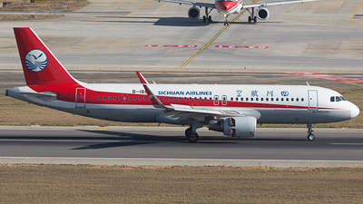 B-1886 - Airbus A320-214 - Sichuan Airlines