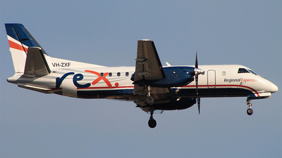 VH-ZXF - Saab 340B - Regional Express (REX)