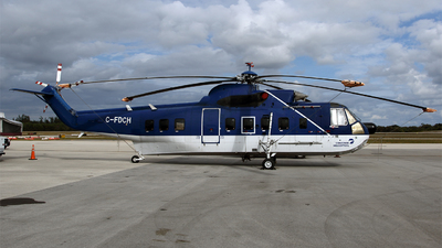 C-FDCH - Sikorsky S-61N - Canadian Helicopters