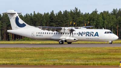 OH-ATJ - ATR 72-212A(500) - Nordic Regional Airlines NORRA