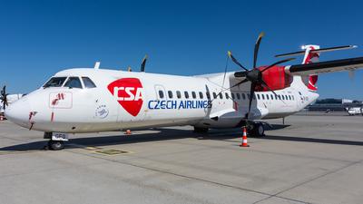 A picture of OKGFQ - ATR 72500 - Czech Airlines - © Cibulka Tomas