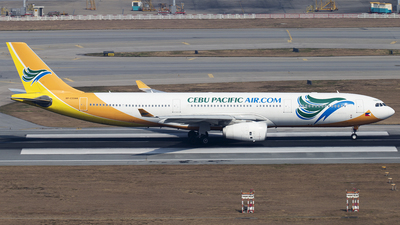RP-C3344 - Airbus A330-343 - Cebu Pacific Air