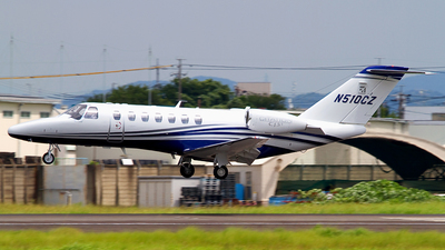 N510CZ - Cessna 525B CitationJet 3+ - Private