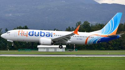 A6-FMQ - Boeing 737-8 MAX - flydubai