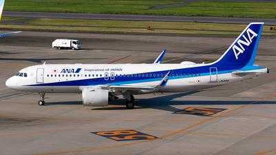 A picture of JA215A - Airbus A320271N - All Nippon Airways - © Shogo Kawai