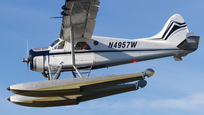 N4957W - De Havilland Canada DHC-2 Mk.I Beaver - Private