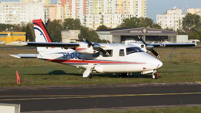 A picture of SPOSZ - GippsAero GA8 Airvan - [GA8TC32012182] - © RAFAL KUKOWSKI