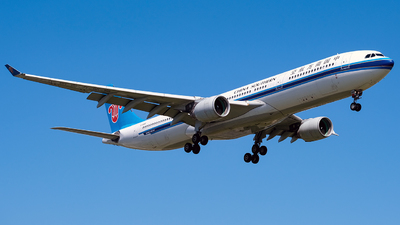 A picture of B5966 - Airbus A330323 - China Southern Airlines - © Predic. LXY!