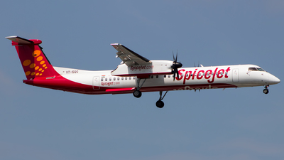 VT-SQG - Bombardier Dash 8-Q402 - SpiceJet