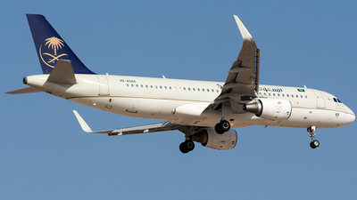 HZ-AS60 - Airbus A320-214 - Saudi Arabian Airlines