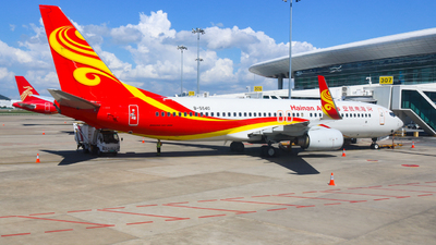 A picture of B5540 - Boeing 73784P - Hainan Airlines - © libohang