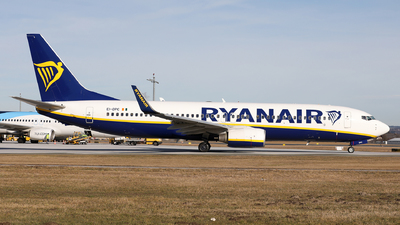 A picture of EIDPC - Boeing 7378AS - Ryanair - © Karl Dittlbacher