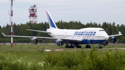 EI-XLB - Boeing 747-446 - Transaero Airlines