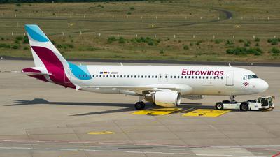 D-AEUH - Airbus A320-214 - Eurowings