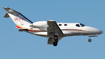 OE-FZC - Cessna 510 Citation Mustang - GlobeAir