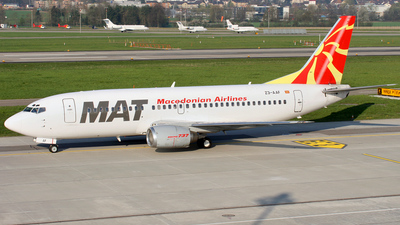 Z3-AAF - Boeing 737-3B7 - MAT Macedonian Airlines